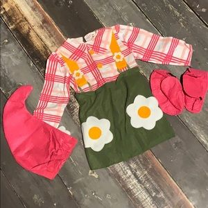 Disguise Costumes - Halloween Costume Flower Garden Gnome 2T girl